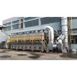 环保吸附催化燃烧设备伸缩房设备伟航制造