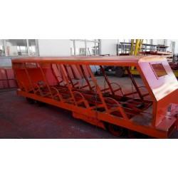XRB15型抱轨式斜井人车  XRC8型插轨式斜井人车