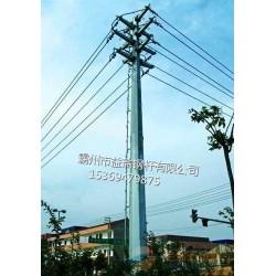 玉溪市26米10kv直线钢管杆 输电钢管杆 免费设计图纸