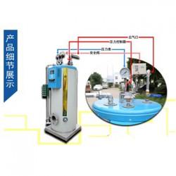 冠中热能专业供应50公斤小型燃气蒸汽锅炉