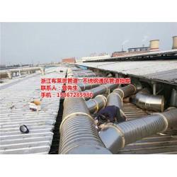 布莱恩管道制造(图),不锈钢法兰风管厂家,江
