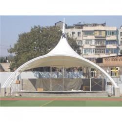 开封体育馆膜结构雨棚