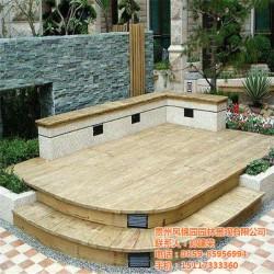 防腐木地板厂家、顶效镇防腐木地板、凤锦园