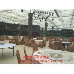 生态餐厅 农业生态玻璃温室 景观生态园建设 鑫华为您服务