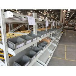 苏州鑫辉滑移式货架生产厂家 流利条货架仓储货架生产批发