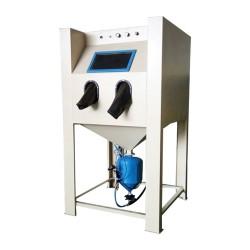 金属制品抛光除锈高压喷沙机手冬箱式喷砂机强力除锈喷涂机