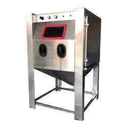 液体手动喷砂机 首饰表面处理喷砂机 箱式无尘环保水喷砂机