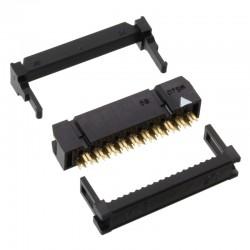 母型插口HIF3B-20D-2.54R接插件黑色