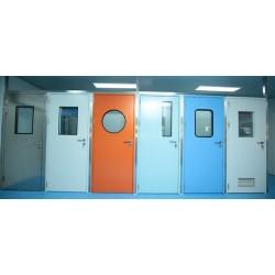 钢制洁净门 净化车间专用彩钢板室内门实验室洁净门 洁净门厂家