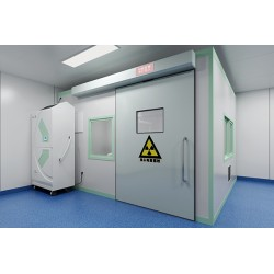 供应医用气密门 自动防辐射彩钢板平移门气密门