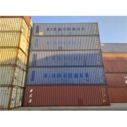 天津各种二手集装箱  海运集装箱 自有箱出售