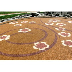 安徽彩色透水混凝土路面铺装