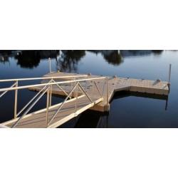 水上模块化湖浮桥船坞,外贸推广
