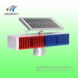 分体式交通警示灯 太阳能爆闪灯 交通设施生产厂家