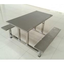广东不锈钢餐桌 学校工厂食堂使用 坚固稳定不晃动